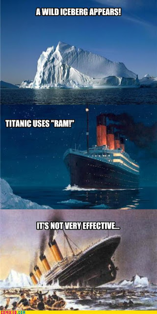 wild iceberg appeared titanic