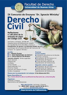 Concurso Winizky de derecho civil