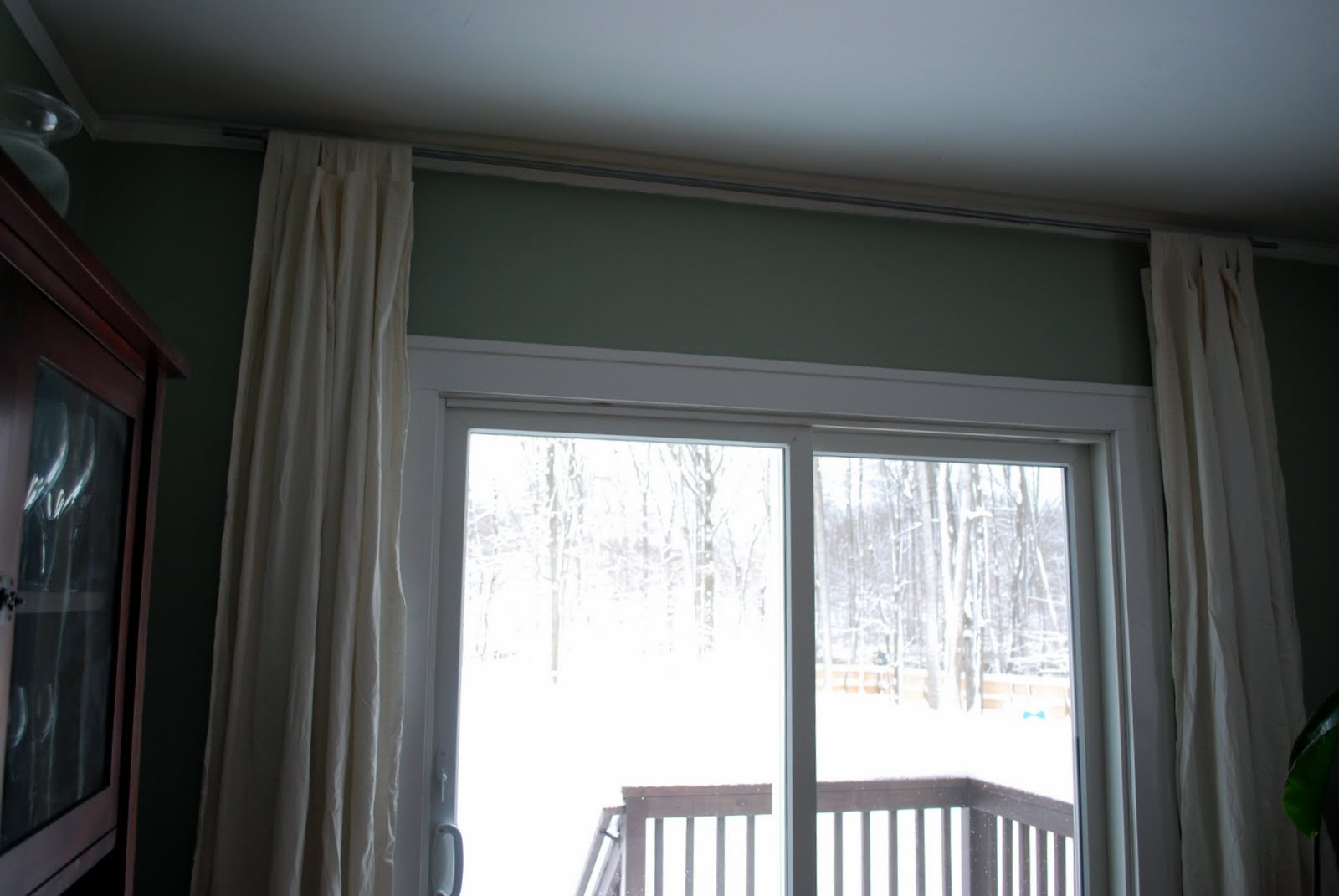 Living Dining Room Curtain Rods