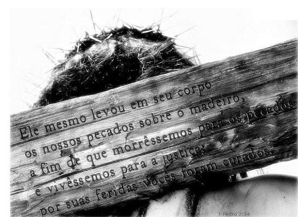 Eu sou o caminho, a verdade e a vida e ninguém vem ao Pai, a não ser por mim..Jesus Cristo Salvador