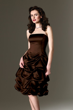 Cheap Chocolate Bridesmaid Dresses