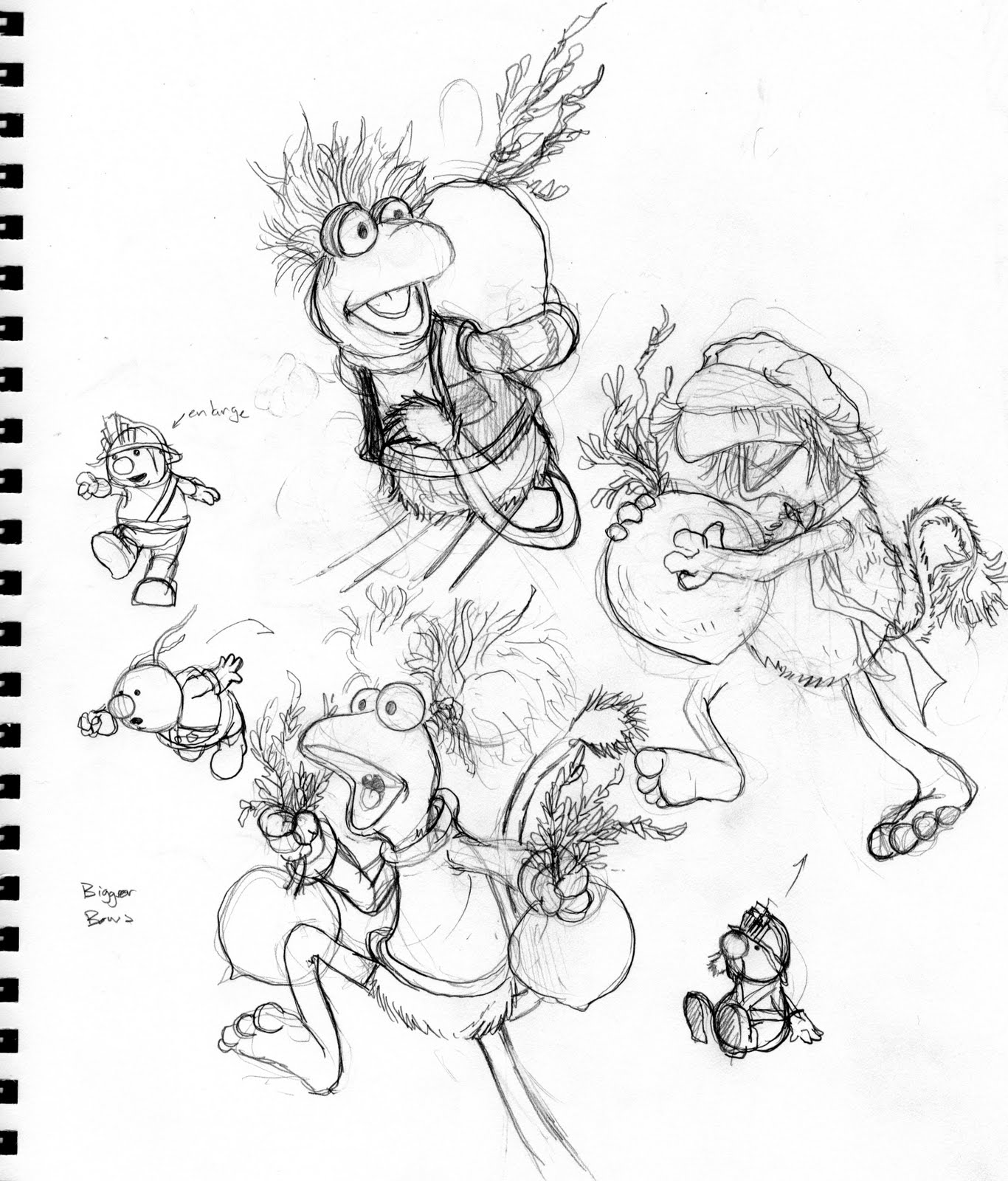 david petersen u0027s blog fraggle rock cover process