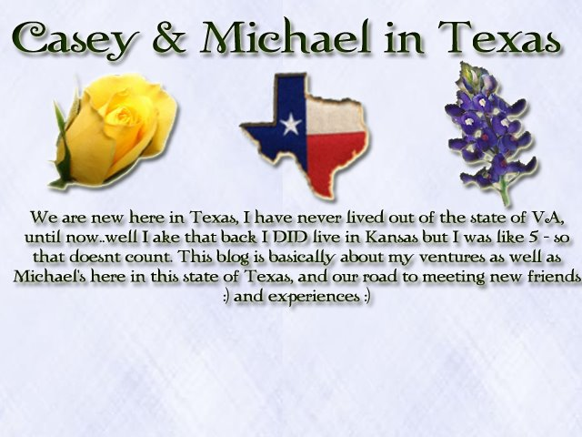 Casey & Michael in Texas