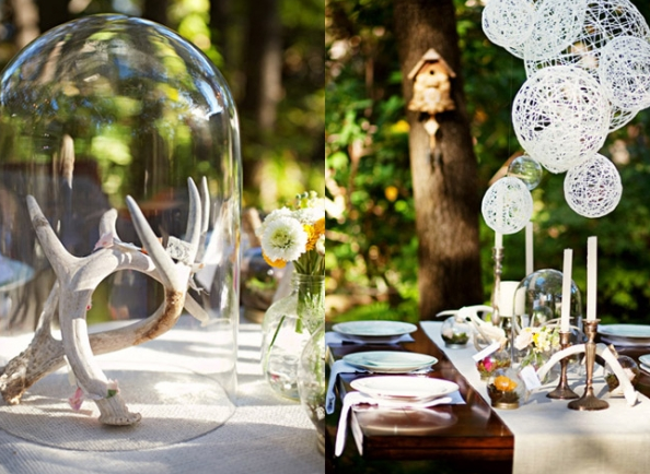 Cheap and Modern Wedding Decorations