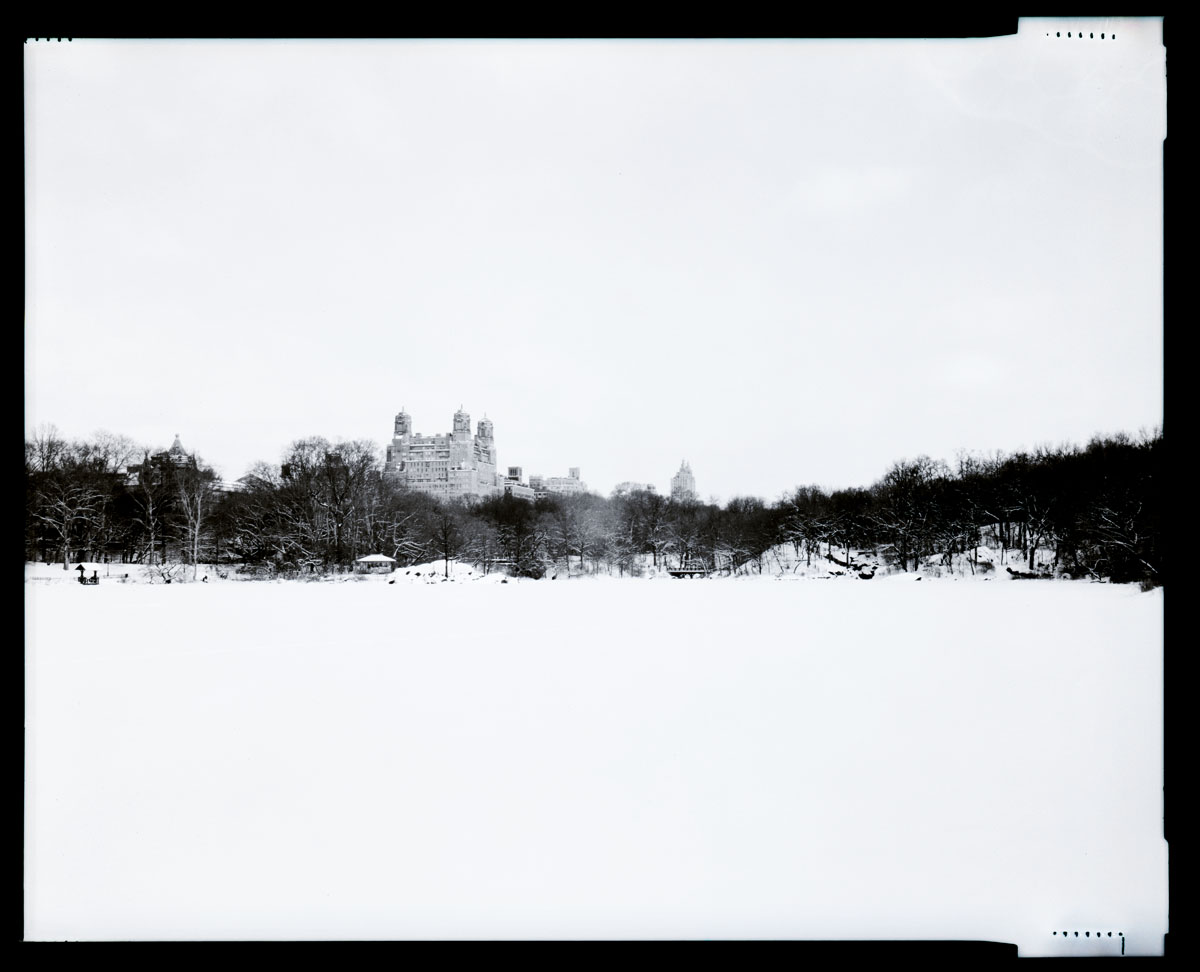 Jeremiah Wilson Photography: Snow Day NYC 4x5 Film