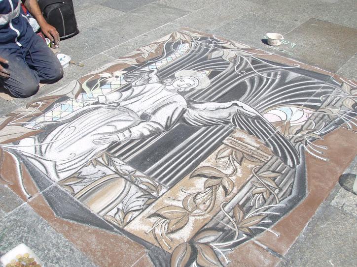 Como Artista Plastica visitei inumeros ARTISTAS ITINERANTES na Alemanha em 2009