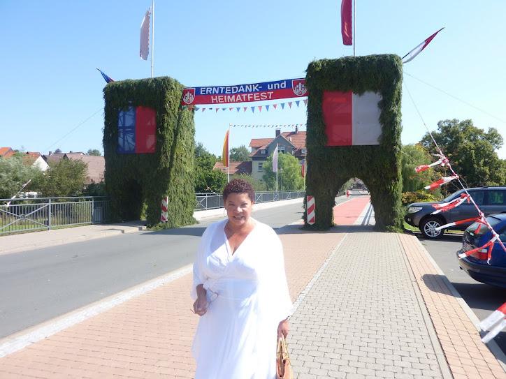 Estive na Abertura da festa da Colheita em 2009 na Alemanha