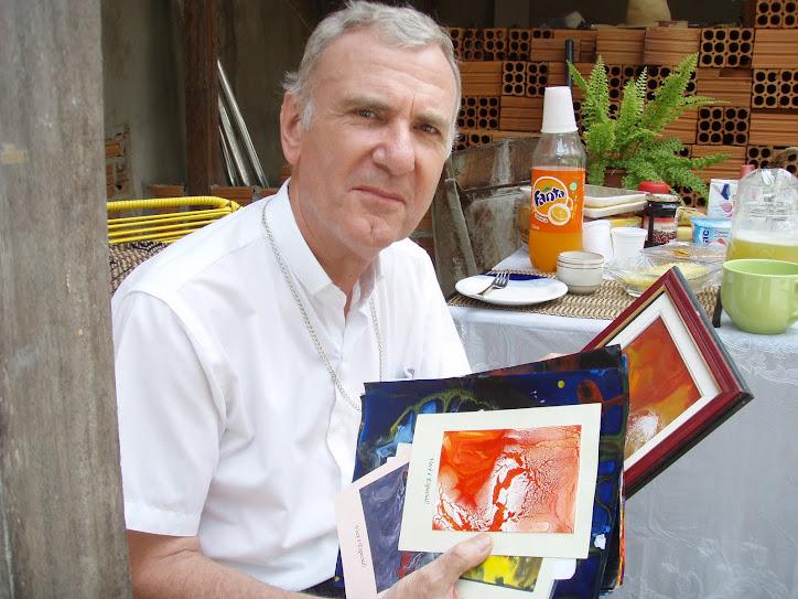 D.Pedro Conti,veio conhecer o trabalho que desenvolvo com portadores Sindrome de Dawn