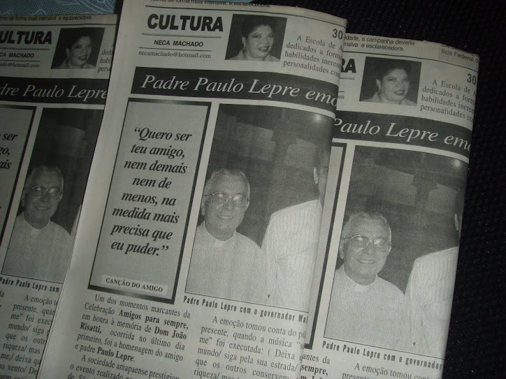 MORRE PADRE PAULO LEPRE em>10.11.2010 na Italia