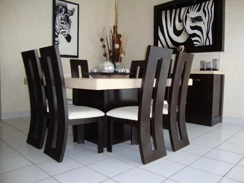 Comedores muebles per comedores de dise o for Diseno de comedores modernos