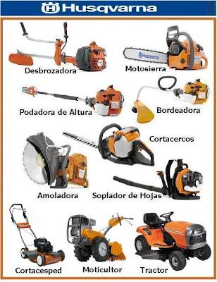 Maquinaria agricola equipos para jardines y bosques for Equipo de jardineria