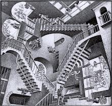 Relativity - M. C. Escher (1953)