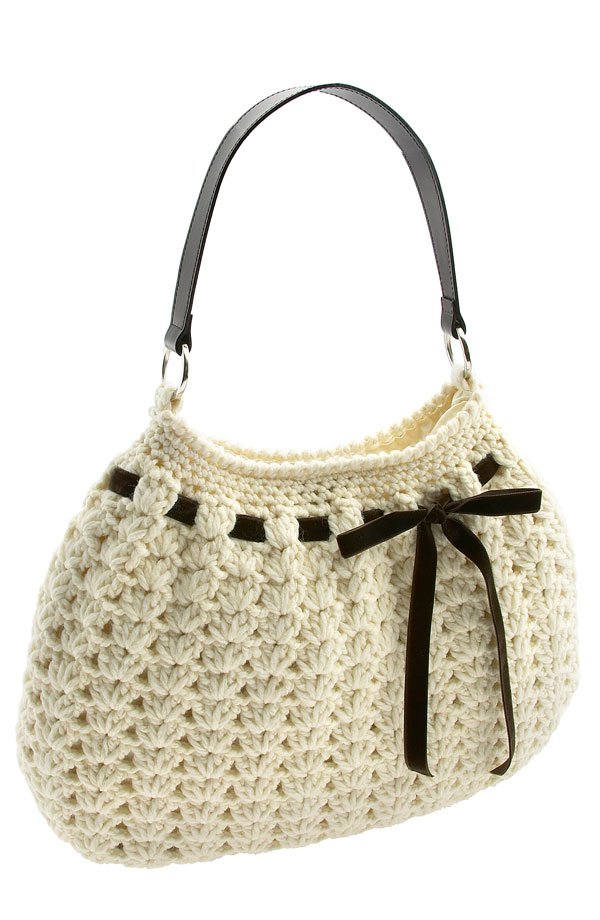 Crocheted Handbag : Tampa Bay Crochet: Free Easy Crochet Purse Pattern