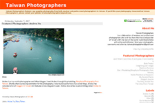 taiwan photographers: featured photographer