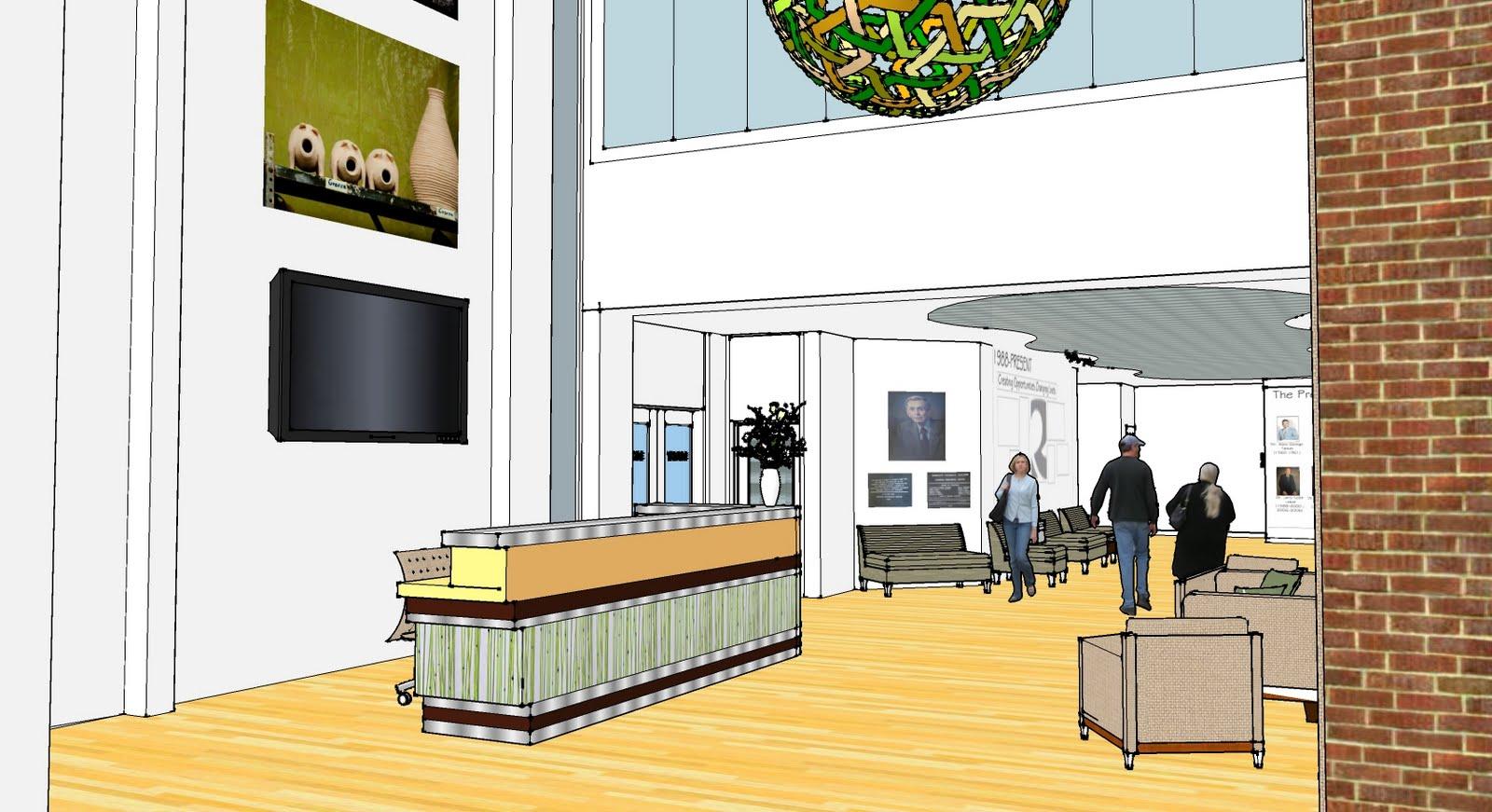 Randolph Community College Interior Design Concepts Presented for