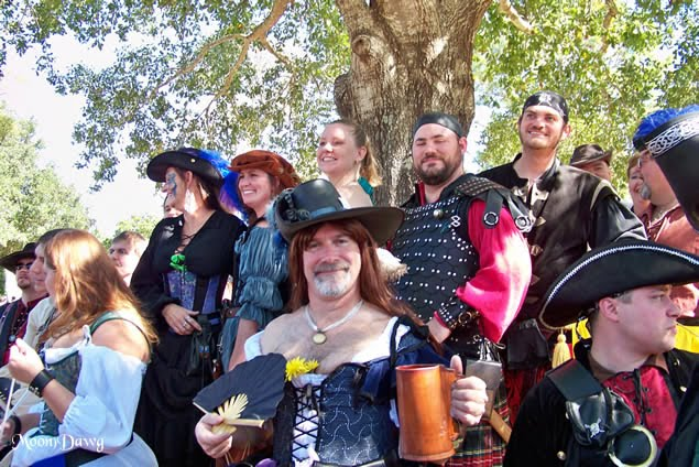 What I want to know is, do renaissance fairs exist that are not embarrassing ...