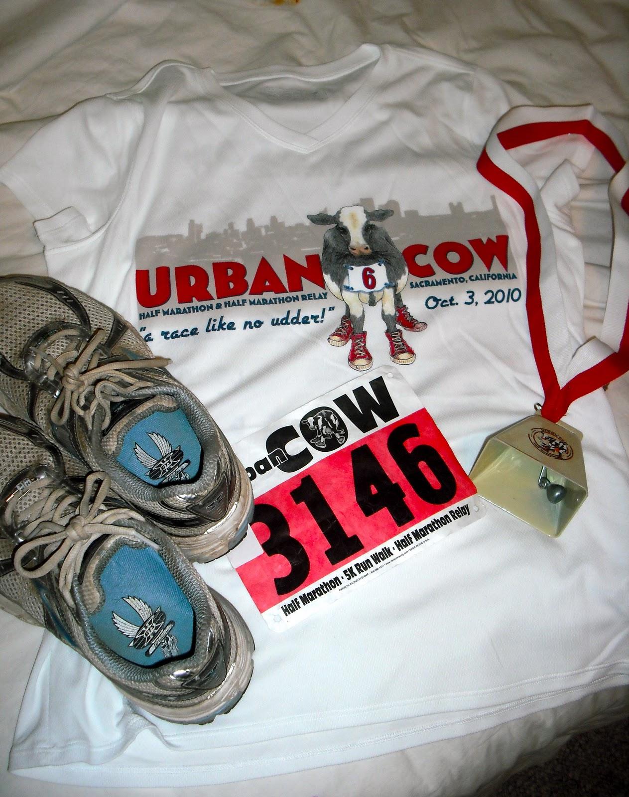 make a run for it: Urban Cow Half Marathon (Race Report)