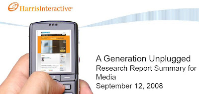 Harris Interactive Report on Mobile, Music and teens