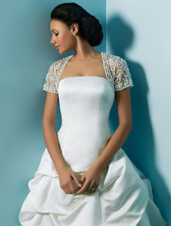 short sleeve lace bolero