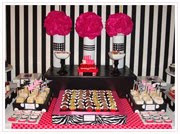 Make Life Funky Dessert Table