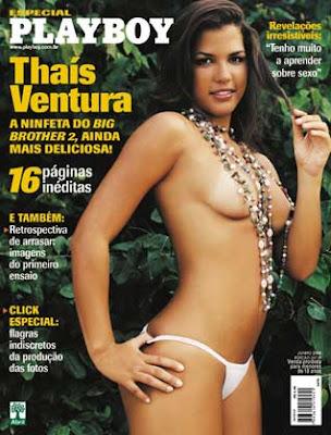 Playboy Ex bbb - Thaís