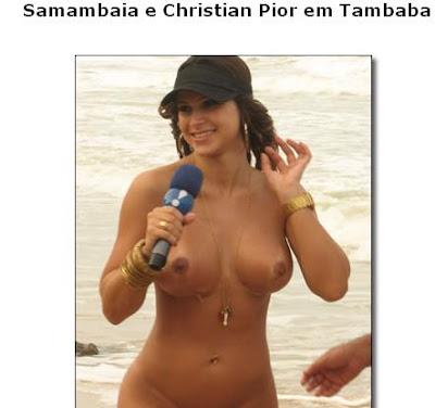 Diario da putaria- Samambaia peada na praia