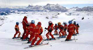 gara di sci all'abetone