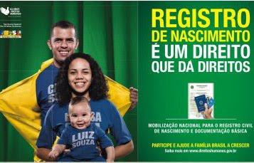 Campanha nacional pela certidão de nascimento 2010