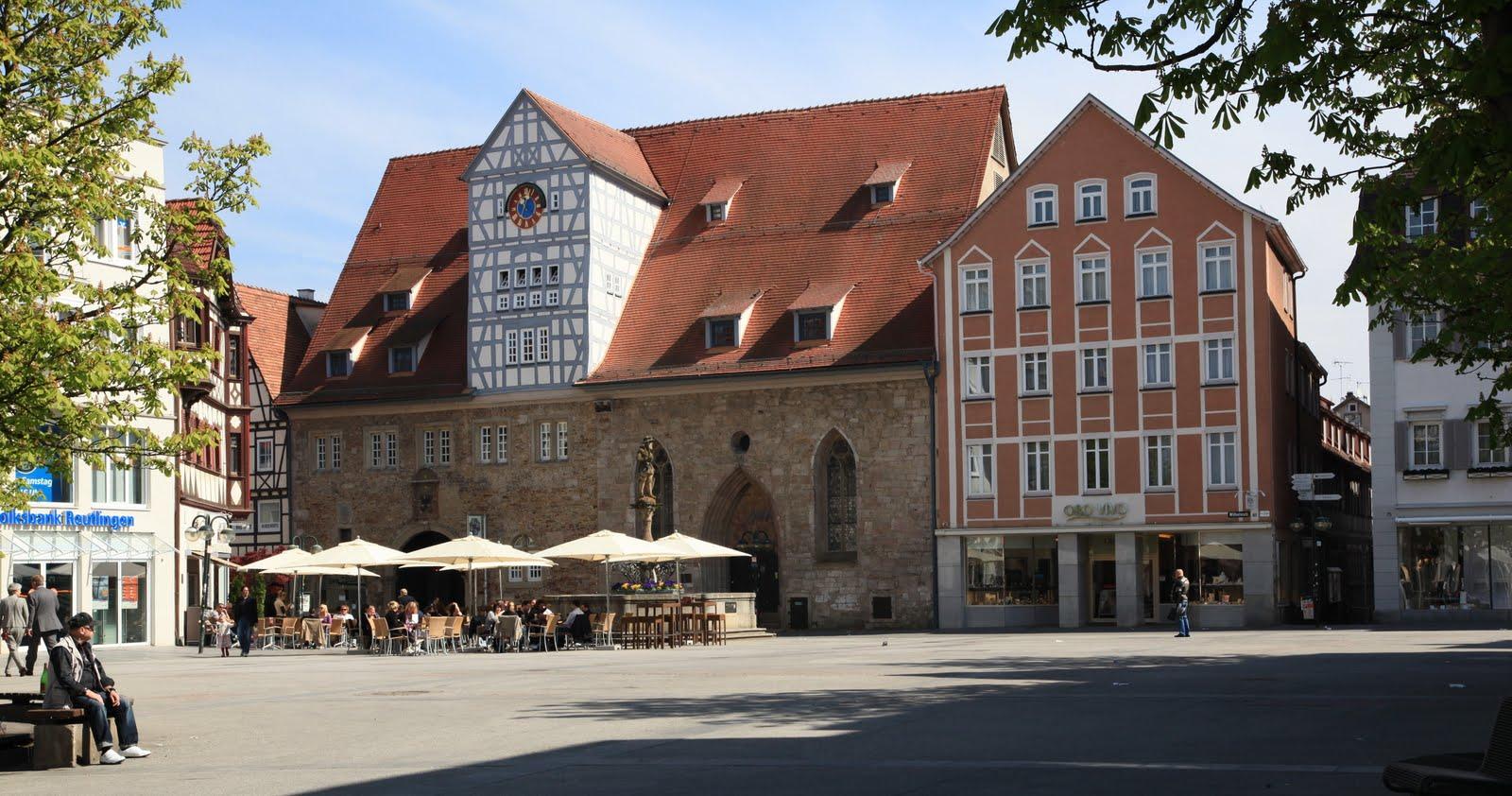 Bildertanz Hipp Trip Durch Reutlingen 7 Auf Dem Marktplatz