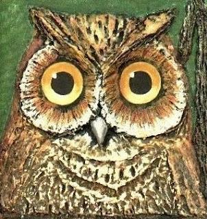 Imagen de búho de ojos grandes