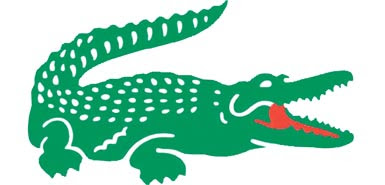 Dibujo de un cocodrilo color verde
