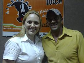 Juliana Lunardelli e Gonçalo