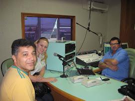 Visita à Rádio Verdes Campos FM- Cascavel-PR