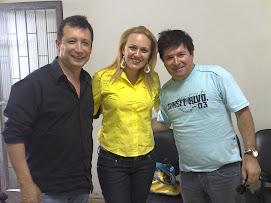 Juliana e a Dupla Gilberto & Gilmar