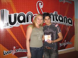 Juliana Lunardelli e Luan Santana