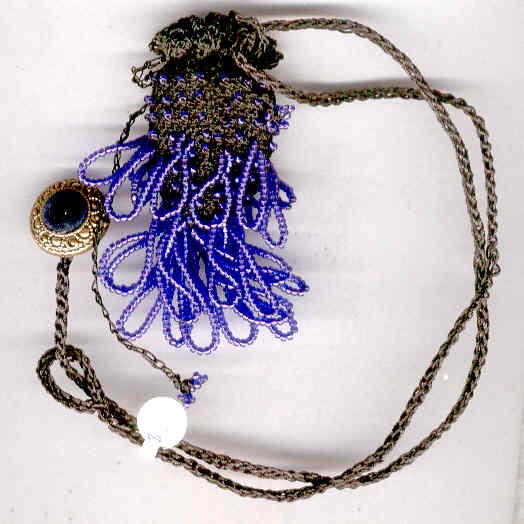 Crochet Wire Bags : simplexities.net: bead crochet: amulet bags, coin purse