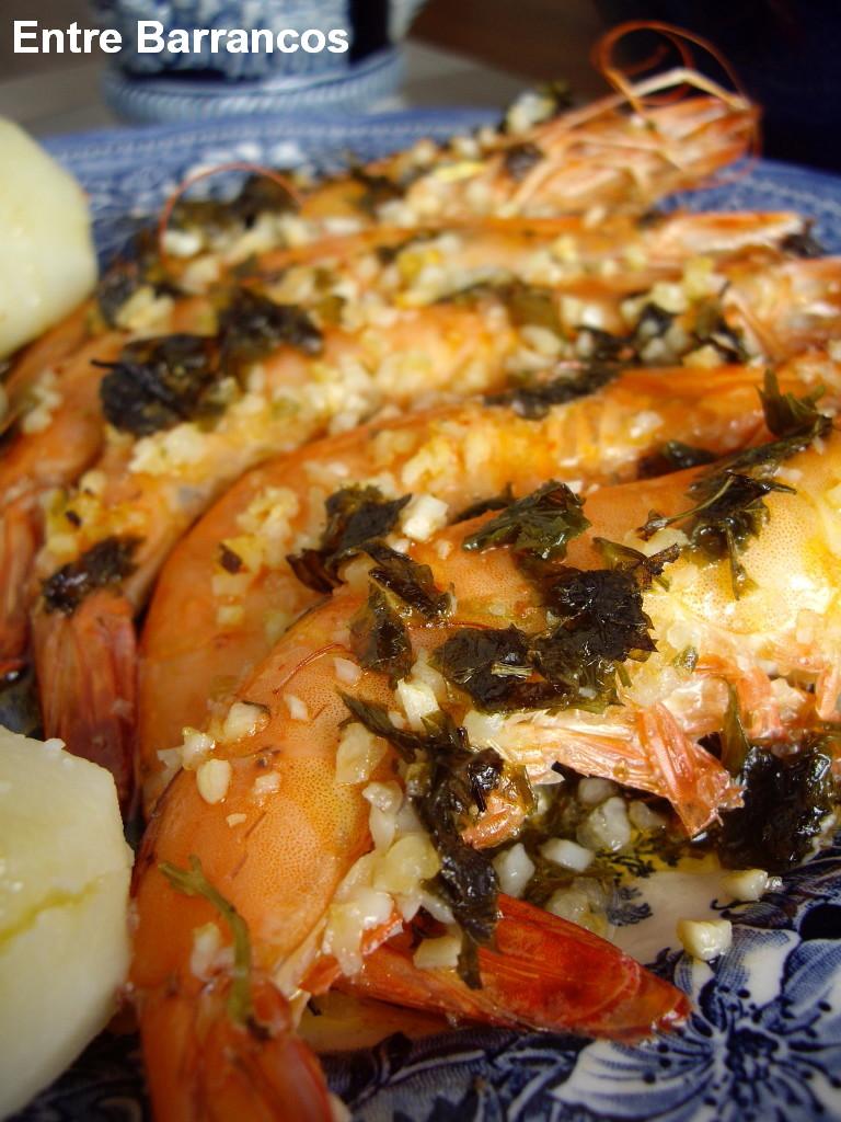 Entre barrancos cocina langostinos al horno - Cocina al horno ...