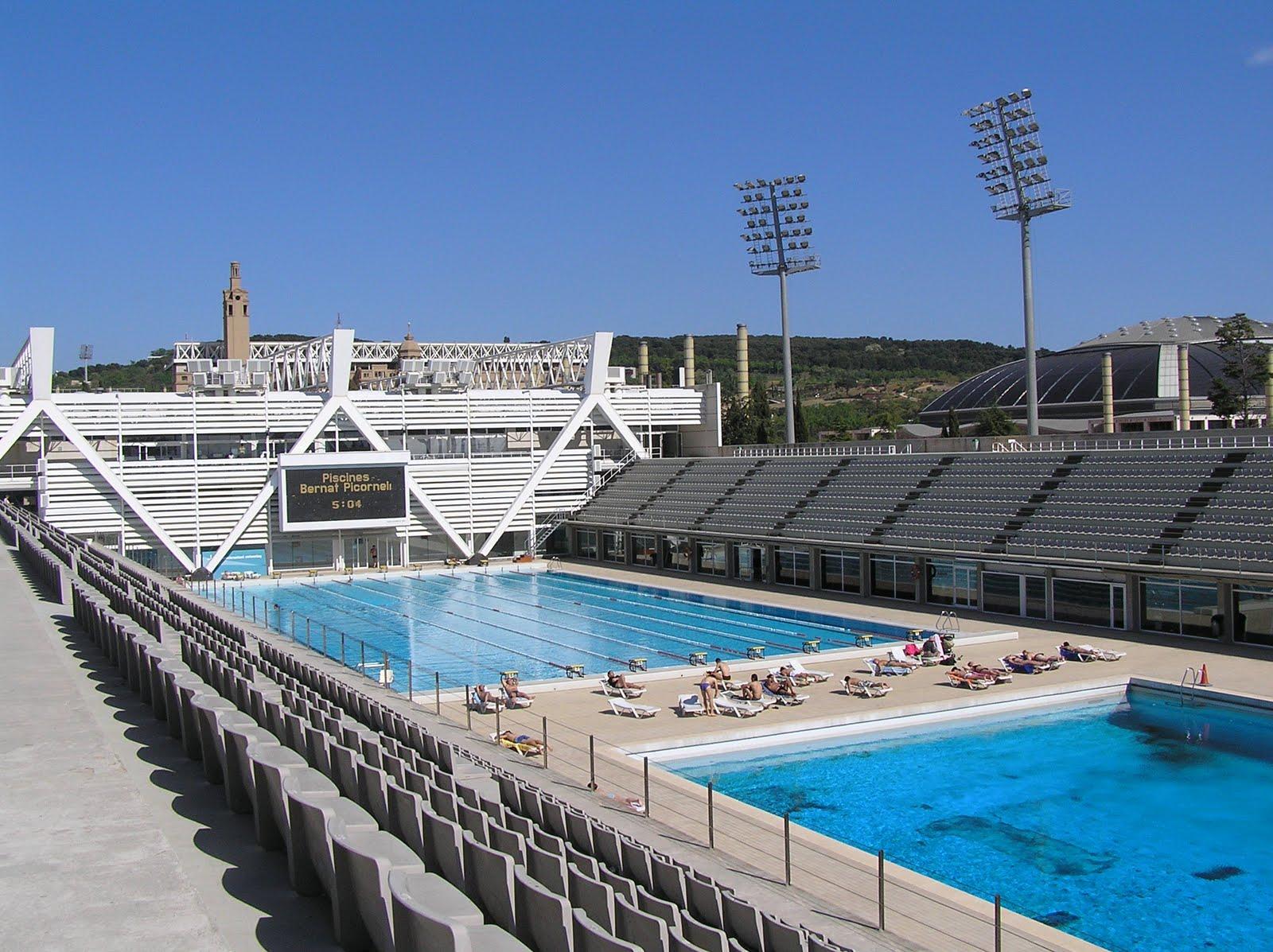barcelona del 39 92 piscines bernat picornell On piscina bernat picornell