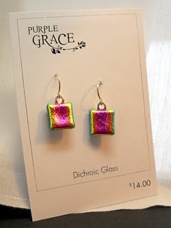Desktop Publishing Making Earring Display Cards