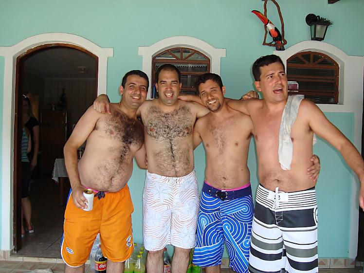 Renato, Rodrigo, Nando e Ricardo