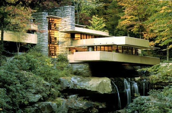 La Casa de la Cascada - Frank Lloyd Wright