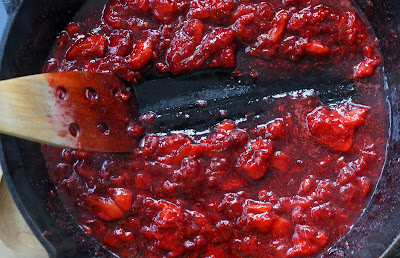 Strawberry+jam+trail Skillet Strawberry Jam (with Vanilla)