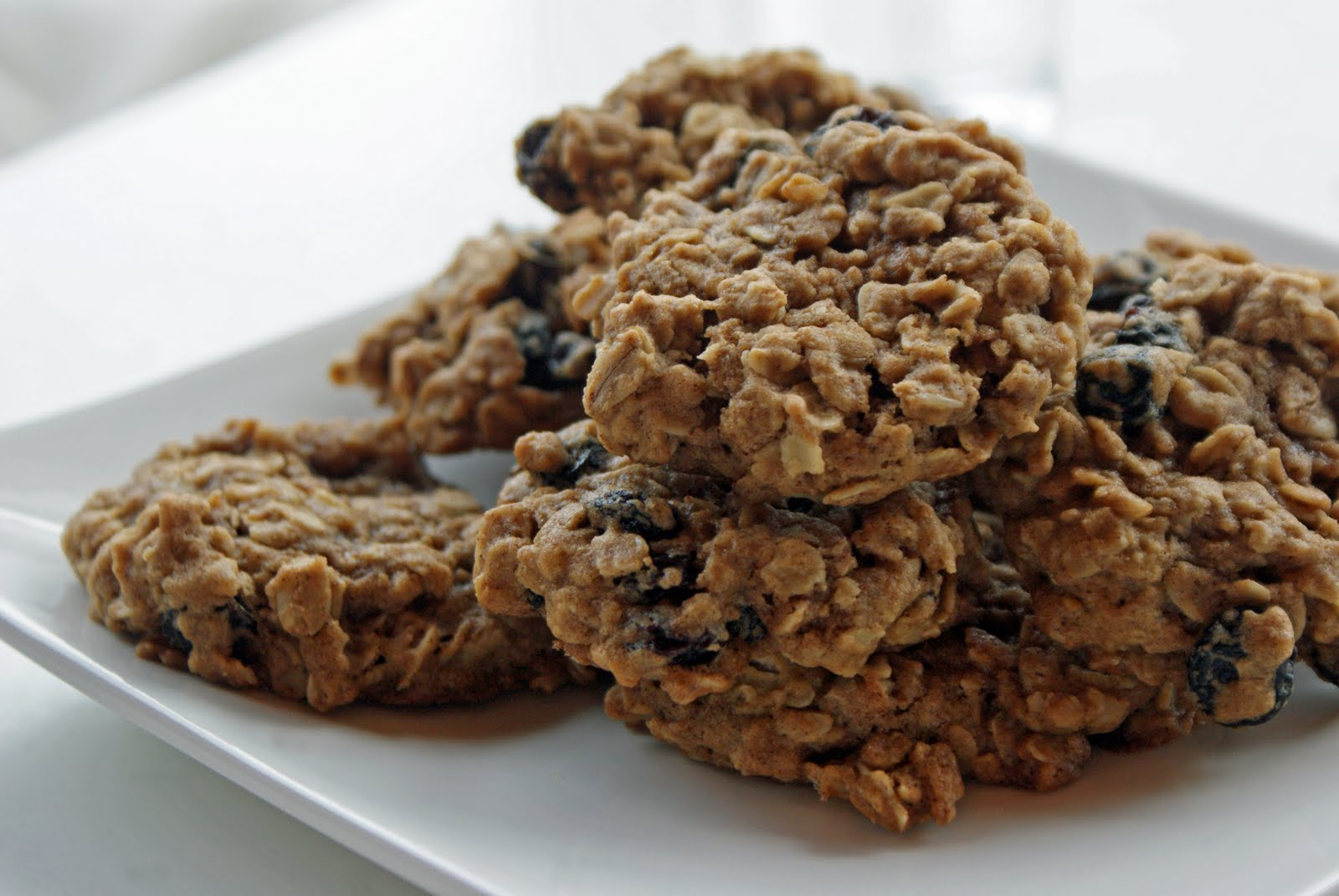 Dad's Chewy Oatmeal Raisin Cookies - Dinner With Julie Dinner With ...