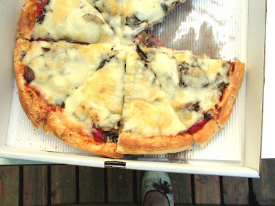 Paul%27s+Pizza+4 Day 229: Pauls Pizza and Black Currant Sorbet & Ginger Ale Floats