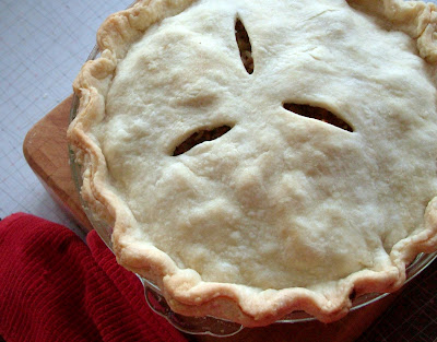 Tourtiere Day 351: Tourtière with Apple Plum Chutney