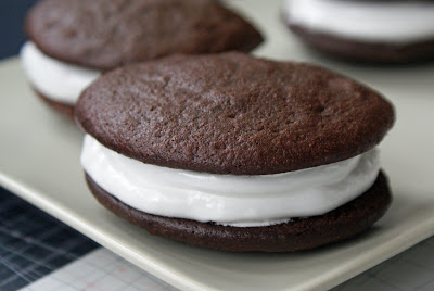 Whoopie+Pies Chocolate Marshmallow filled Whoopie Pies