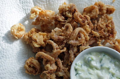 Calamari+ +fried+2 Calamari: Grilled, then Fried