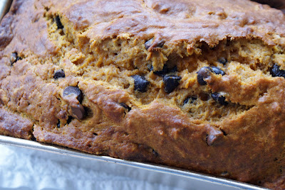 Pumpkin+bread Pumpkin Chocolate Chip Loaf Cake