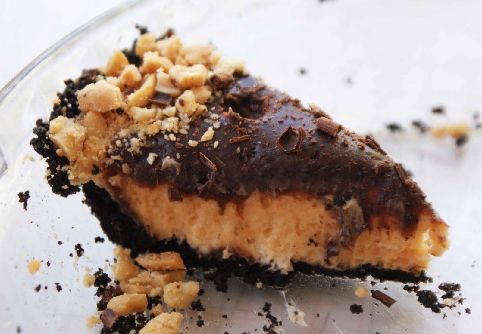 Chocolate Peanut Butter Birthday Pie - Dinner With Julie