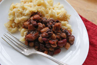 Bean%2Bchili%2B%2526%2Bmac%2B%2526%2Bcheese%2B2 Gluten Free Mac & Cheese with Vegetarian Black Bean Chili